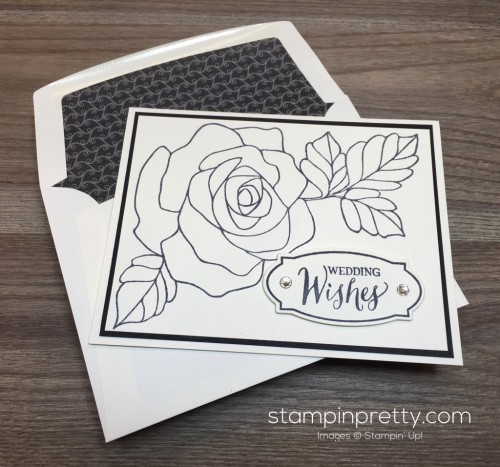 Stampin Up Rose Wonder Wedding Card Ideas - Mary Fish StampinUp