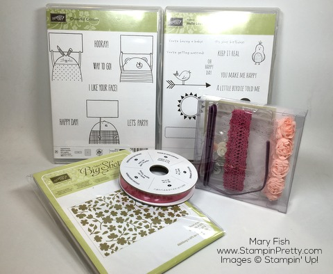 Stampin Up Spring Fling Blog Candy
