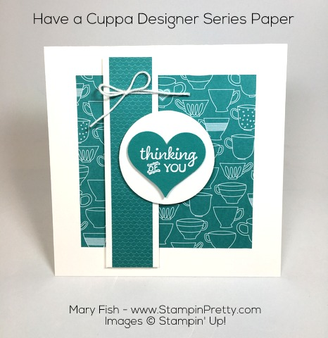 Stampin Up Thinking of You Sympathy Card Ideas Using Party Pants By Mary Fish