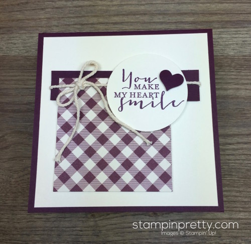 Stampin Up Timeless Love Card Idea - Mary Fish StampinUp