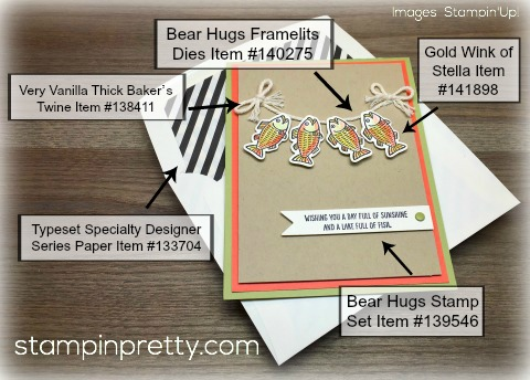 Stampin Up Bear Hugs Products