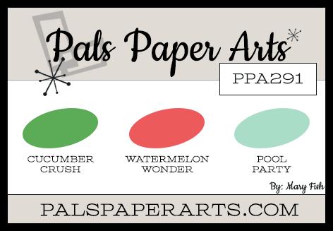 Pals Paper Arts Color Challenge PPA291