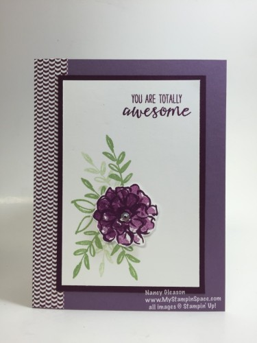Pals Paper Crafting Card Ideas Grateful Bunch Mary Fish Stampin Pretty StampinUp