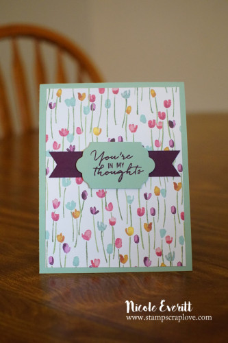 Pals Paper Crafting Card Ideas In My Thoughts Mary Fish Stampin Pretty