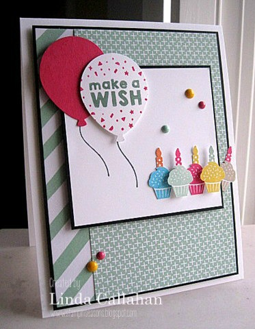 Pals Paper Crafting Card Ideas Make a Wish Mary Fish Stampin Pretty StampinUp