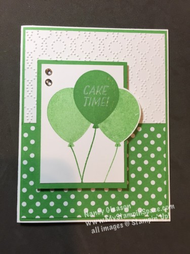 Pals Paper Crafting Card Ideas Party Pants Mary Fish Stampin Pretty StampinUp