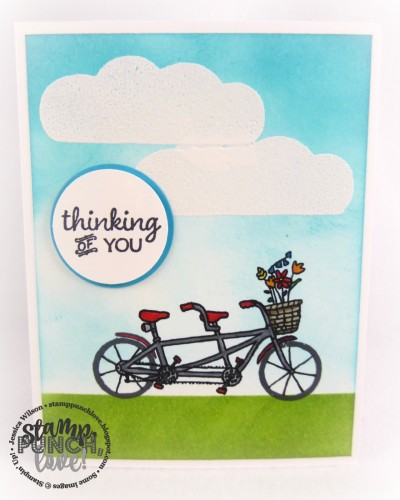 Pals Paper Crafting Card Ideas Pedal Pusher Mary Fish Stampin Pretty StampinUp