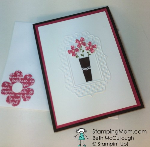 Pals Paper Crafting Card Ideas Pictogram Punches Mary Fish Stampin Pretty StampinUp