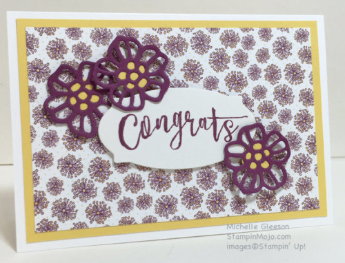 Pals Paper Crafting Card Ideas Rose Garden Mary Fish Stampin Pretty StampinUp