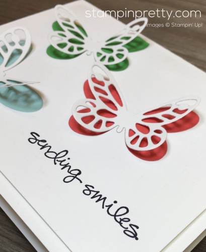 Stampin Up Bold Butterfly Greatest Greeting Card Ideas - Mary Fish StampinUp