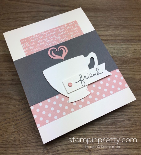 Stampin Up Cups Kettle Dies - Mary Fish StampinUp