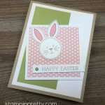 Friends & Flowers Easter Bunny Card