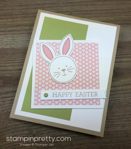 Stampin Up Easter Bunny Card Idea - Mary Fish StampinUp