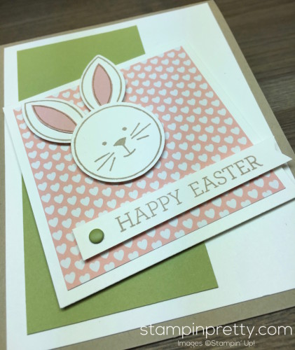 Stampin Up Easter Bunny Card Ideas - Mary Fish StampinUp