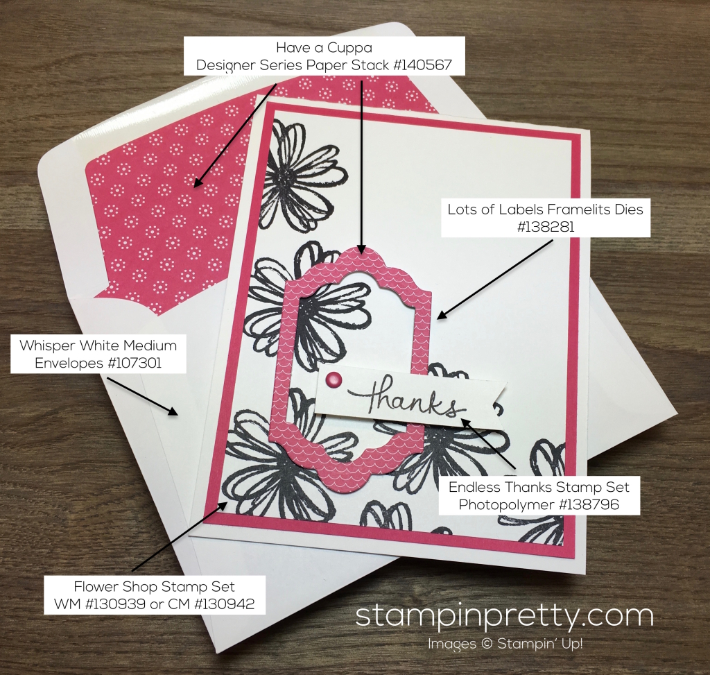Spring has sprung pals blog hop stampin 39 pretty for Mary fish stampin up