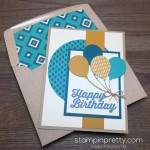 Balloon Bouquet Happy Birthday Card
