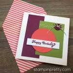Modern & Masculine Birthday Card