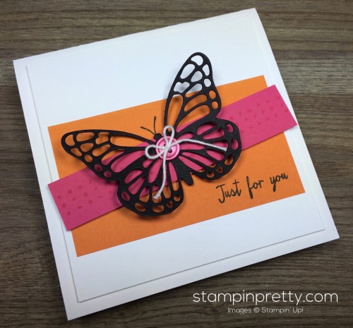 Stampin Up Watercolor Wings Butterflies Dies Butterfly Card By Mary Fish