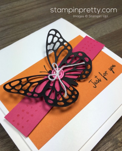 Stampin Up Watercolor Wings Butterflies Dies Butterfly Card Idea By Mary Fish