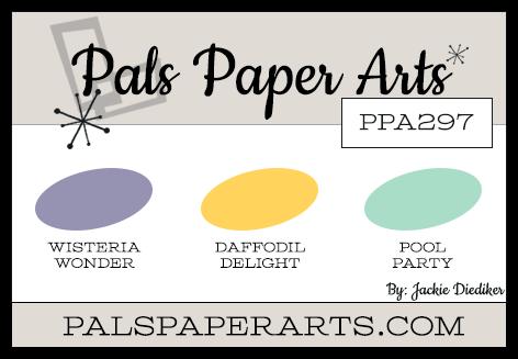 Pals Paper Arts Color Challenge PPA297