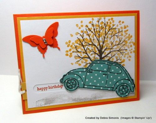 Pals Paper Crafting Card Ideas Beautiful Ride Mary Fish Stampin Pretty StampinUp