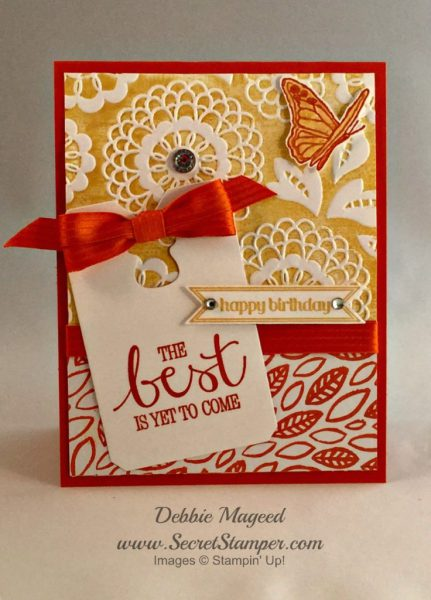 Pals Paper Crafting Card Ideas Best Thoughts Mary Fish Stampin Pretty StampinUp