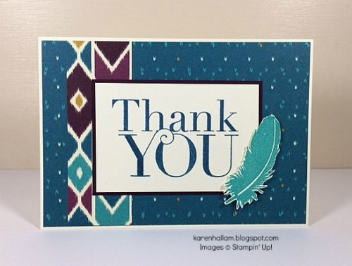 Pals Paper Crafting Card Ideas Bohemian Mary Fish Stampin Pretty StampinUp