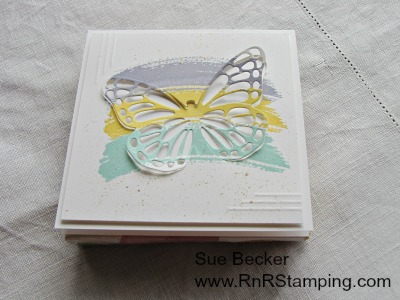 Pals Paper Crafting Card Ideas Butterfly Mary Fish Stampin Pretty StampinUp