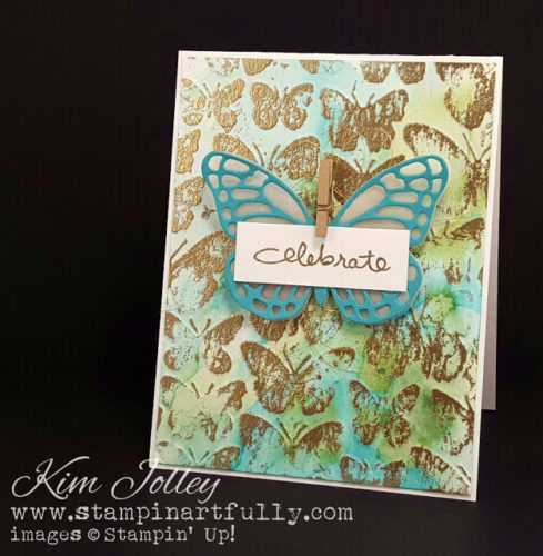 Pals Paper Crafting Card Ideas Fluttering Mary Fish Stampin Pretty StampinUp