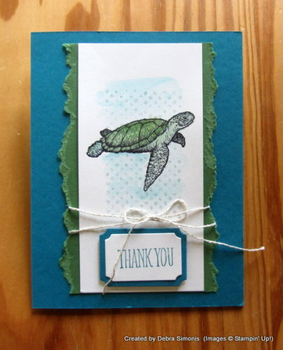 Pals Paper Crafting Card Ideas From Land to Sea Mary Fish Stampin Pretty StampinUp