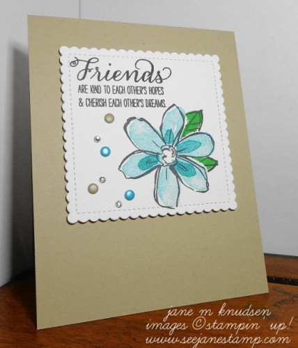 Pals Paper Crafting Card Ideas Garden in Bloom Mary Fish Stampin Pretty StampinUp