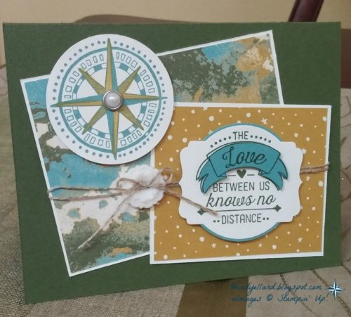Pals Paper Crafting Card Ideas Going Global Mary Fish Stampin Pretty StampinUp