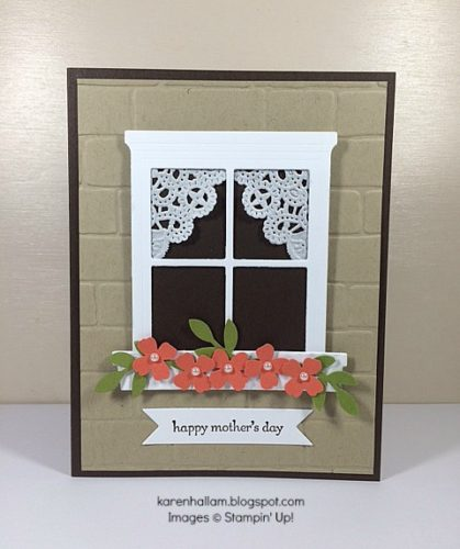 Pals Paper Crafting Card Ideas Hearth & Home Mary Fish Stampin Pretty StampinUp
