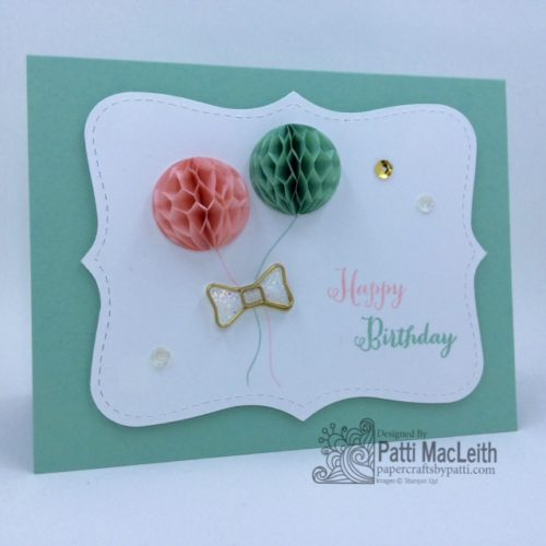 Pals Paper Crafting Card Ideas Remembering Your Birthday Mary Fish Stampin Pretty StampinUp