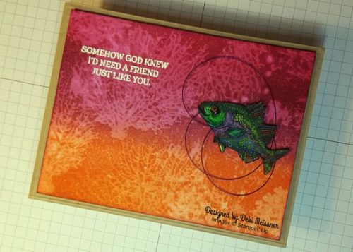 Pals Paper Crafting Card Ideas Rose Wonder Mary Fish Stampin Pretty StampinUp