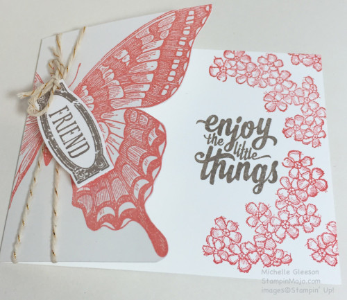 Pals Paper Crafting Card Ideas Swallowtail Mary Fish Stampin Pretty StampinUp