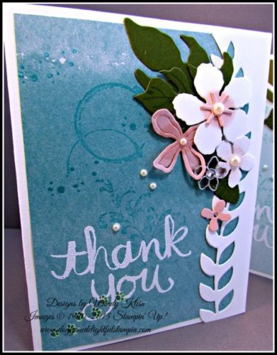 Pals Paper Crafting Card Ideas Watercolor Mary Fish Stampin Pretty StampinUp