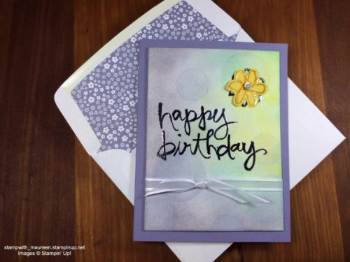 Pals Paper Crafting Card Ideas Watercolor Wonder Mary Fish Stampin Pretty StampinUp