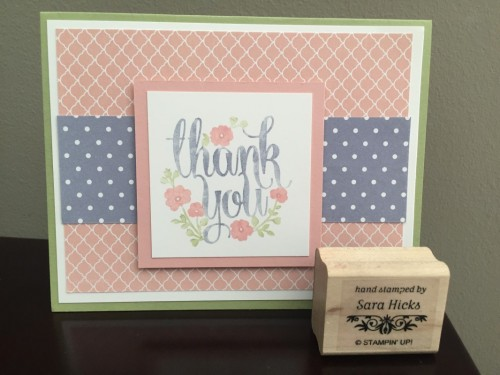 Pals Paper Crafting Card Ideas Whole Lot of Lovely Mary Fish Stampin Pretty StampinUp