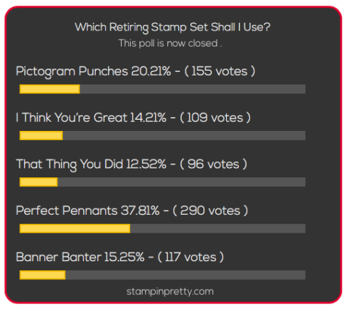 Stampin Pretty Blog Readers Choice Poll