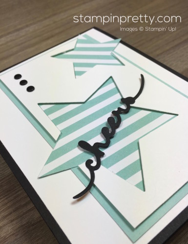 Stampin Up Congratulations Congrats Graduation Card Idea By Mary Fish StampinUp