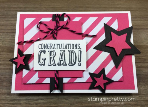 Stampin Up Congratulations Graduation Card By Mary Fish StampinUp