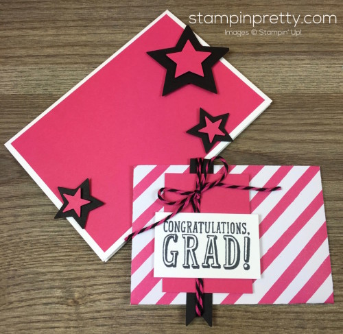 Stampin Up Congratulations Graduation Gift Card By Mary Fish StampinUp