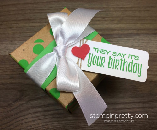 Stampin Up Gift Box Punch Board Suite Sayings Birthday By Mary Fish StampinUp