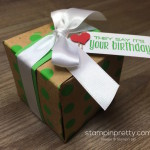 Polka Dots & the Gift Box Punch Board!