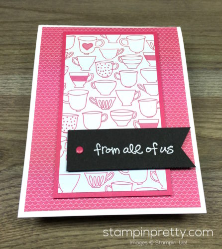 Stampin Up Greatest Greetings Congratulations Card By Mary Fish StampinUp