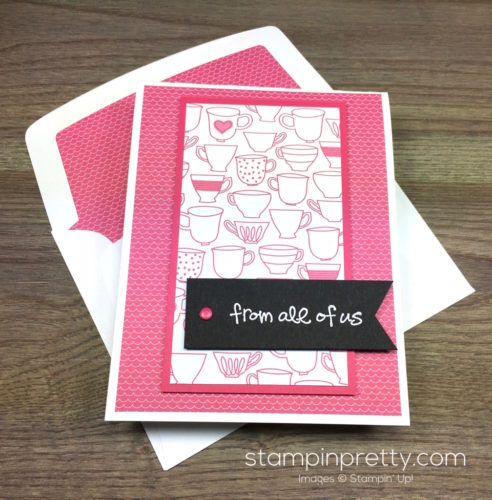 Stampin Up Greatest Greetings Congratulations Card & Envelope By Mary Fish StampinUp