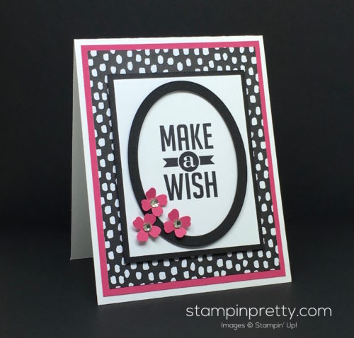 Stampin Up Perfect Pennants Birthday Card By Mary Fish StampinUp