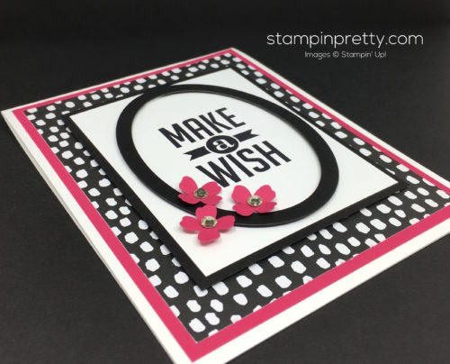 Stampin Up Perfect Pennants Birthday Card Idea By Mary Fish StampinUp