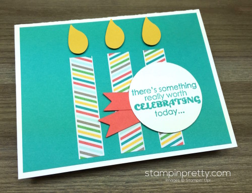 Stampin Up Remembering Your Birthday Card By Mary Fish StampinUp